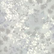 Moda - Sakura Park - 7194 - Grey Watercolour Blossoms - 33484-18 - Cotton Fabric